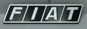 Classic Fiat 500 R 126 Front Emblem Badge Decal Plastic Brand New