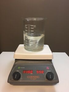 Corning Pc 420d Hot Plate Magnetic Stirrer 5 X 7 120v Stirring Heater