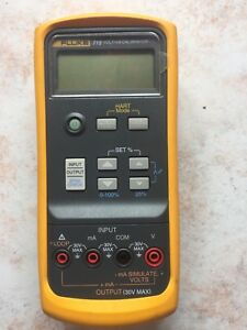 Fluke 715volts ma Calibrator