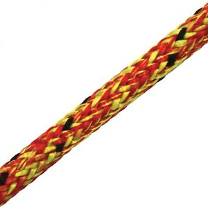 Marlow Aeris Red Arborist Climbing Rope 11mm Kernmantle Rope 7 800lbs