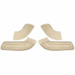 New 1968 70 Hinge Covers Front Seat Mustang 69 70 Galaxie Fairlane Monterey Ford