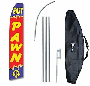 Pawn Swooper Flag Feather 15 Tall Complete Starter Bag Kit Neoplex
