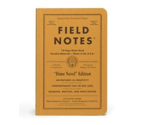 Field Notes Dime Novel Sealed 2 pack Notebooks