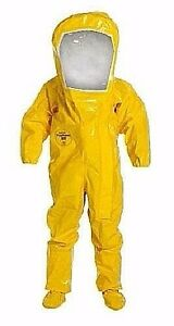 Dupont Br527t 1 cs Hazmat Suit Size Lg In Stock Free Shipping No Tax