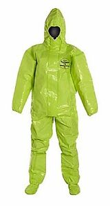 Dupont Tk128t tychem 10000 Hazmat Suit 1 Each Size Xl Free Shipping No Tax