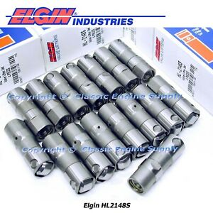 Set Of 16 Hydraulic Roller Lifters Fits Some 1987 2002 Sb Chevy 305 350