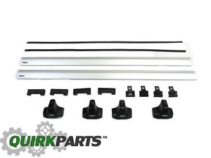 12 18 Jeep Grand Cherokee Without Factory Side Rails Thule Removable Roof Rack