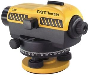 Sal Series Automatic Level Cst berger 32x Magnification Top mount Hand Tool