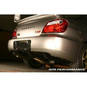 Apr Performance For Subaru Wrx Sti License Plate Backing 2004 2007 Hawk Bug