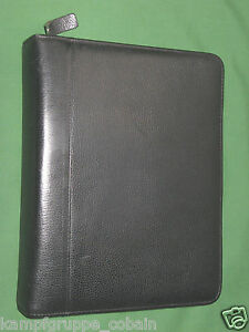 Classic 1 5 Black Top Grain Leather Franklin Covey Quest Planner Binder 5824