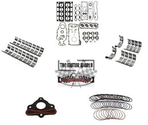Gm Chevrolet Engine Rebuild Kit Plus 4 8 5 3 2001 2013 Saab Rering