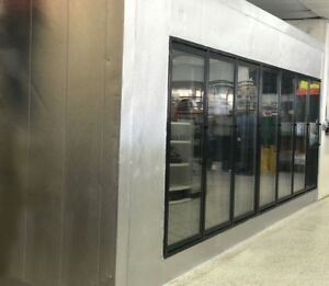 Glass Door Walk In Freezer Cooler any Sizes Available Custom Sizes