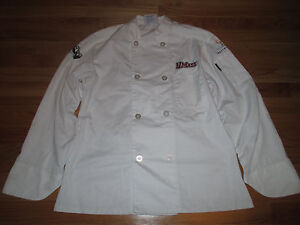Umass Embroidered Menu Masters Restaurant sm Culinary Jacket