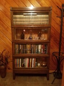 Antique Globe Wernicke Sectional Bookcase