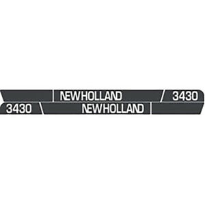 High Quality 3430 New Holland Tractor Hood Decal Kit