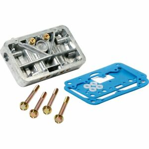 Open Box Holley Carburetor Metering Plate Conversion Kit