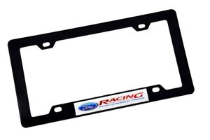 X1 Ford Racing Abs Plastic License Plate Frame For Ford F150 F250 Explorer Edge