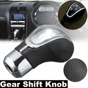 Car Gear Shift Knob Usb Charge W Touch Activated Sensor White Led Light New