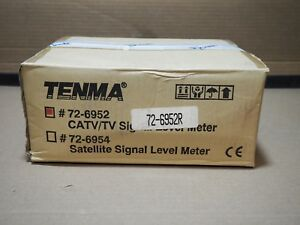 Tenma Catv Tv Signal Level Meter 72 6952r