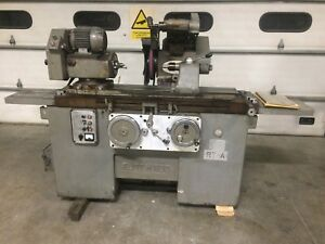 Grisetti Elite M600 Rt a 12 x24 Cylindrical Id od Grinder Italy Universal