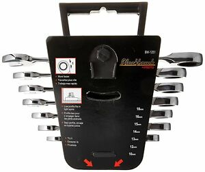 Blackhawk By Proto Bw 1251 12 Point Metric Combination Wrench Set 7 Pcs