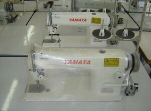 Yamata Fy8500 Lockstitch Industrial Sewing Machine New Servo lamp table Ddl8700
