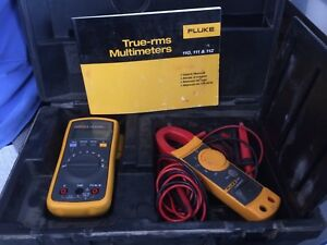 Fluke 112 322 Combo Meter Kit Multimeter And Clamp Meter