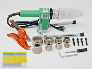 110v Hdpe Pipe Fusion Welding Tool W Case 1 2 3 4 1 1 1 4 Ips Sockets
