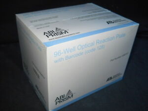 20 Abi Prism 96 well 0 2ml Optical Reaction Plates W 128 Barcode 4306737