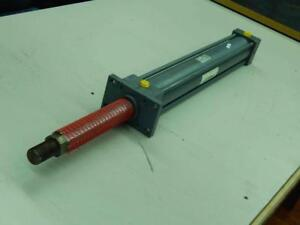 Miller Stroke 21 Bore 2 1 2 Rod 1 3000 Psi Hydraulic Cylinder