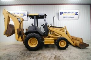 Caterpillar 416b 4wd Backhoe Loader Ready To Work