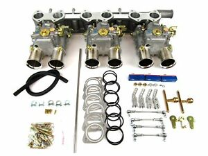 Classic Jaguar Xk120 150 6cyl Engine Triple Weber 45 Dcoe Conversion Kit