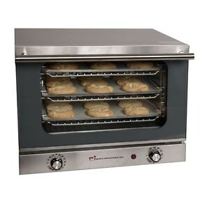 Commercial Convection Counter Top Oven High Quality Cooking Appliance Silver