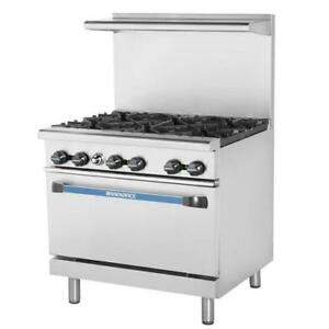 Turbo Air Tar 6 36 In Restaurant Range W 6 Burners Standard Oven