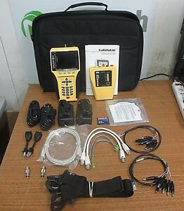 Test um Jdsu Validator Nt900 Network Lan Ethernet Cable Tester