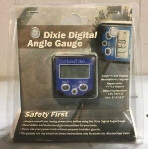 Dixie Digital Angle Gauge