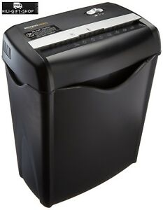Business Home Office Cross Cut Paper Shredder Destroy Credit Card Dvd Heavy Duty