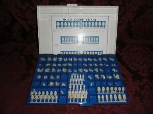 Box Of 160 Bencodental Polycarbonate Dental Crowns With Mold Guide Chart