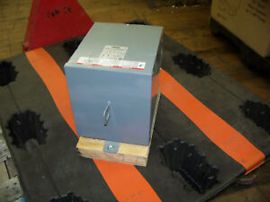 Square D Schneider Electric 7 5 Kva 1ph Rainproof Enclosure Transformer 7s1f New