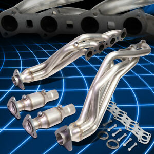 For 99 04 Ford F150 heritage 5 4l V8 Racing Long Tube Exhaust Manifold Headers
