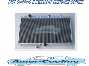 Aluminum Radiator For 1997 2001 Honda Prelude Acura Cl 2 2l L4 2row Mt 1998