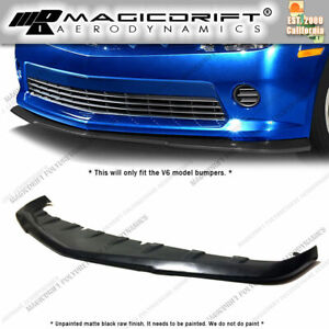 For 14 15 Chevy Camaro V6 Lt Rs Oe Gfx Style Front Lip Chin Splitter Valance
