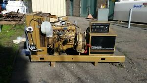 Kohler 45rz202 40kw Natural Gas Generator Set