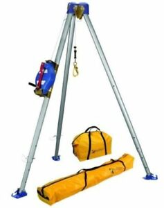 New Falltech 7500 60 Confined Space Tripod Kit