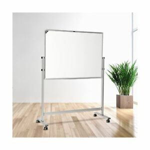 Zhidian Rolling White Board With Stand magnetic Dry Erase Board Aluminum Fram