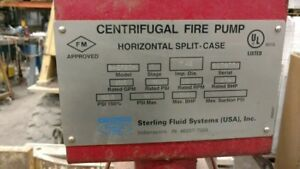 Centrifugal Fire Pump