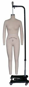 Professional Female Full Body Mannequin Dress Form W arms Size 0 wfcs 0 2