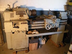 Rockford Economy Lathe 30 length 8 Swing Machinist Lathe Metal Cutting Turning