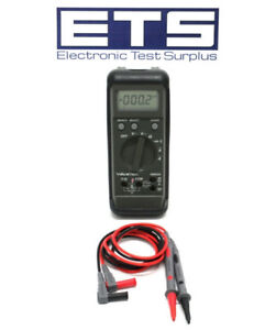 Wavetek Dmm Digital Multimeter Rms225 Premium Hard Point Test Lead Probe Set