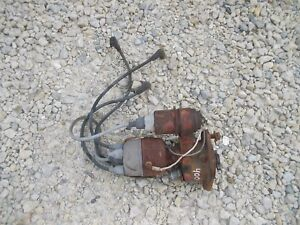 Farmall 400 450 Ih Ihc Tractor Engine Motor Distributor Drive Assemly Wires t